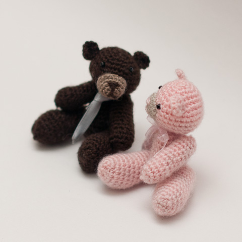 Amigurumi Mini Teddy Bear Free Crochet Pattern | 480x480