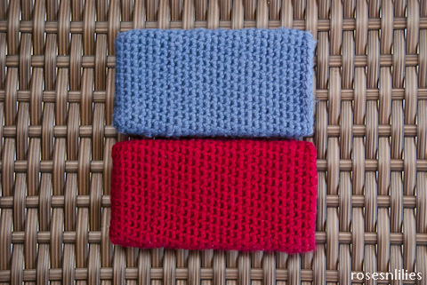 DIY How to knit - Easy and Fast ipad tablet sleeve pocket